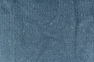 blue wool background or texture