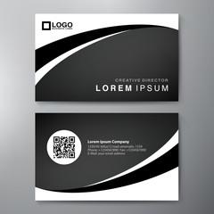 Modern Business card Design Template. Vector illustration