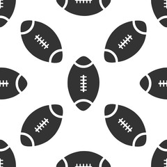 American Football ball icon pattern