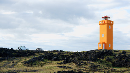Lighthouse in Snaefellsnes, Iceland