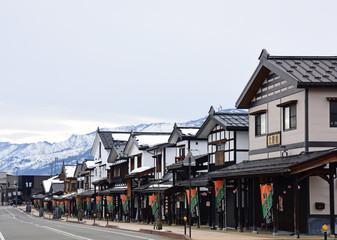 塩沢宿牧之通り/Old streets of Japan.