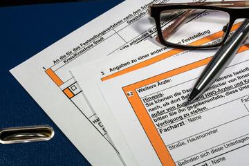 Antrag zum Schwerbehindertenrecht