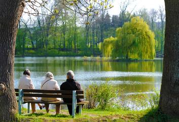 Aktive Rentner Senioren im Ruhestand,
