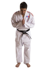 French judo fighter