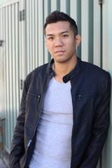 Great looking tough asian guy
