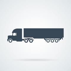 PrintBig Truck Icon Vector