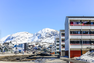 Nuuk living quarters