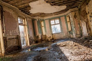 Keuken foto achterwand Oud Ziekenhuis Beelitz Interior of an abandoned house