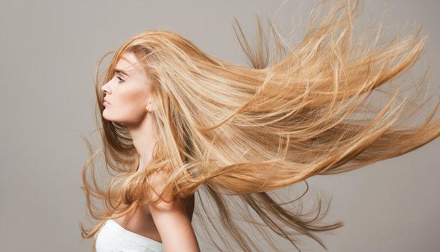 Beautiful healthy hair.
