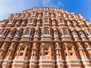 Palace of the winds in Jaipur, India