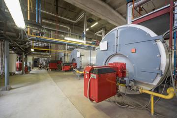 Boiler room. Engine room.