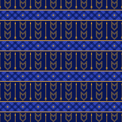 Seamless  boho pattern