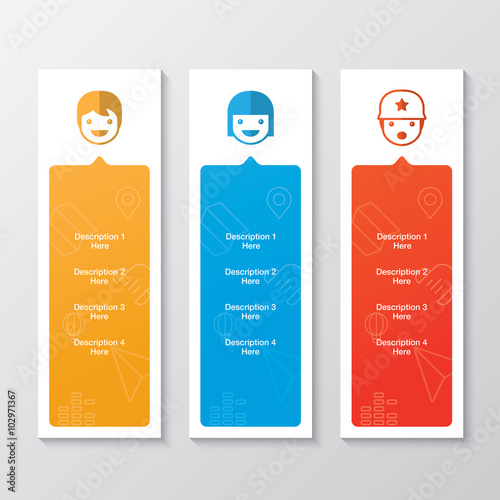 Kid Product Banners Yellow Cartoon Banners