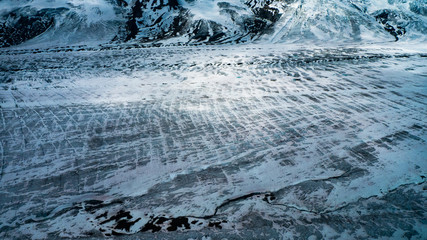Glacier in the Wrangell Mountains