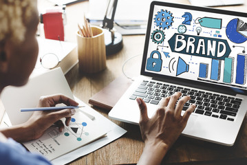Brand Branding Marketing Strategy Business Concept