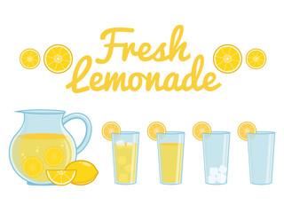 Lemonade isolated