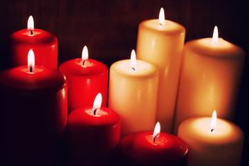 macro candle light set