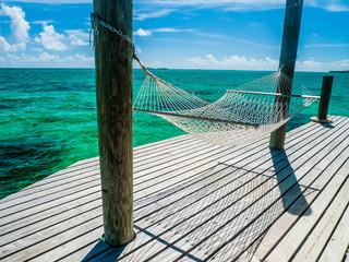 Hammock in the Bahamas