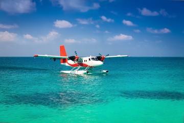 Maldives, sea plane