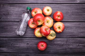 Tonic near apples