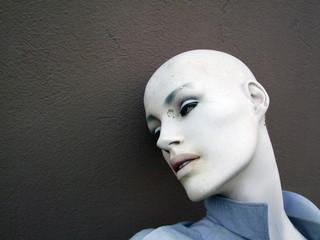 Kopf einer Schaufensterpuppe