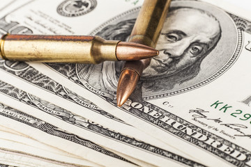 Two Bullets on Dollars