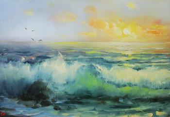 Surf Wall mural