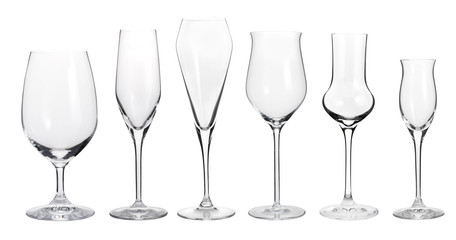 Collection of wineglasses