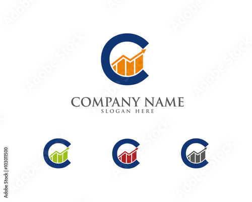 """""""Abstract C Accounting & Financial Logo 1"""" Stock image and ..."""