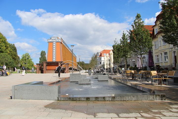 Bad Salzuflen, Brunnen, Fontänenbrunnen