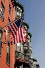 North End architecture in Boston, Massachusetts