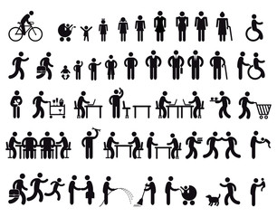Menschen Pictogram