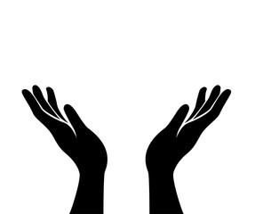 hands hope vector