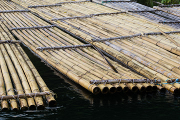 Traditional bamboo rafts were how locals traveled and carried goods for trade. Now you can experience this ride for yourself in lake Banding, Perak, Malaysia.
