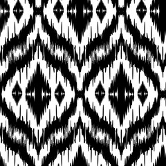Ikat Ogee Background  6