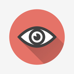 Eye - vector icon.