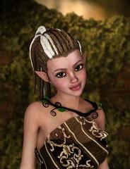 Elfe im Wald