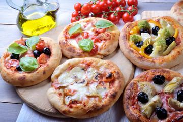 Mini Pizzas, Pizzette