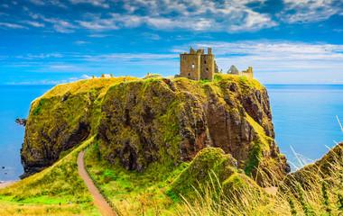 Dunnotar Castle in Scotland Wall mural