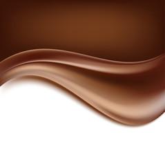 chocolate background. creamy abstract backgorund. vector