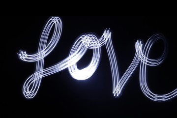 Love drawing with light and long exposure