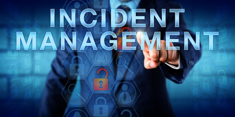Administrator Pushing INCIDENT MANAGEMENT