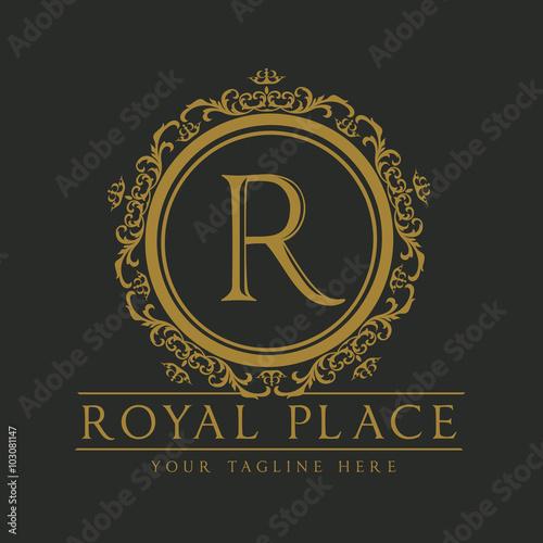 luxury logo boutique identity real estate property royalty logo
