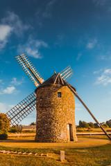 Aluminium Prints Mills Dol de Bretagne windmill Brittany France
