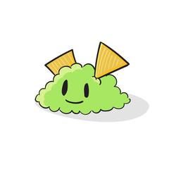 Cute Guacamole vector illustration