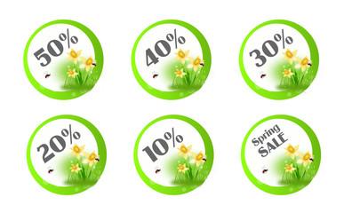 Spring sales cicrcle