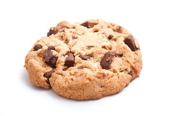 Cookies sur fond blanc