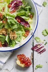 Pomegranate and Walnuts Salad