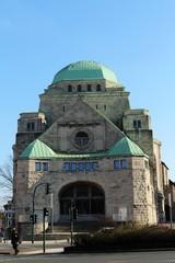 Die alte Synagoge in Essen.