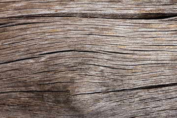 Natural wooden texture with cracks and knot for background